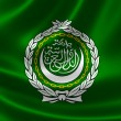 Close-up of League of Arab States' Flag — Stock Photo #53682419