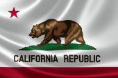 Bandera del estado de california — Foto de Stock
