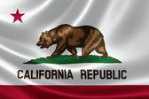 California state flagga — Stockfoto