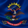 North Dakota State Flag — Stock Photo #54208321