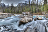 Natural Bridge at Yoho National Park in British Columbia — Stock Photo