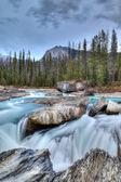 Kicking Horse River in Yoho National Park, Canada — Stock Photo