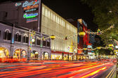 Christmas in Singapore at Night — Stock Photo