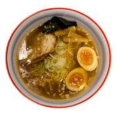 Japanese Shoyu Soya Sauce Ramen Noodles — Stock Photo