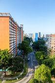 シンガポールの住宅アパート — ストック写真