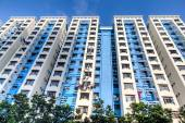 Singapore Public Housing Estate — Stock Photo