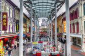 Сингапурский ориентир: предоставление hdr китайского квартала — Стоковое фото