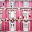 Colorful Chinatown Architecture of Singapore — Stok fotoğraf #64644883