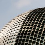 Singapore Landmark: Esplanade Theatres on the Bay — Stock Photo #69949865