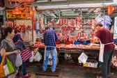 Slagerij in Hong Kong, China — Stockfoto