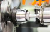 Automotive cnc lathe and cnc grinding part — Stock Photo