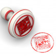 White and red best products stamp — Stock Photo #65094851