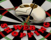 Conceito de compras Web — Fotografia Stock