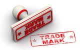 Trade mark stamp — Stock Photo