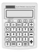 Bright Electronic calculator — Stock Photo