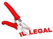 Legal. The concept of changing the conclusion — Stock Photo