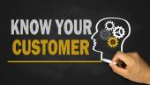 Know your customer — Zdjęcie stockowe