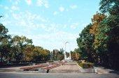 Memorial complex in Sochi — Stock Photo