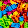 Plastic toy blocks — Stock Photo #59423833