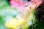 ガラスへの水滴 — ストック写真