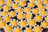Kanom jamongkut, Thai dessert  — Stock Photo