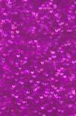 Defocused abstract purple hearts light background — Photo