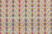 Handcraft weave texture thai sedge mat background — Stock Photo