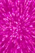 Purple glitter explosion lights abstract background — Stock Photo