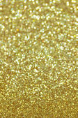 Defocused abstract golden lights background — Stock Photo
