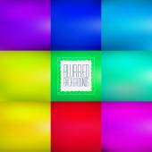 Smooth abstract colorful blurred vector backgrounds. — Stock Vector