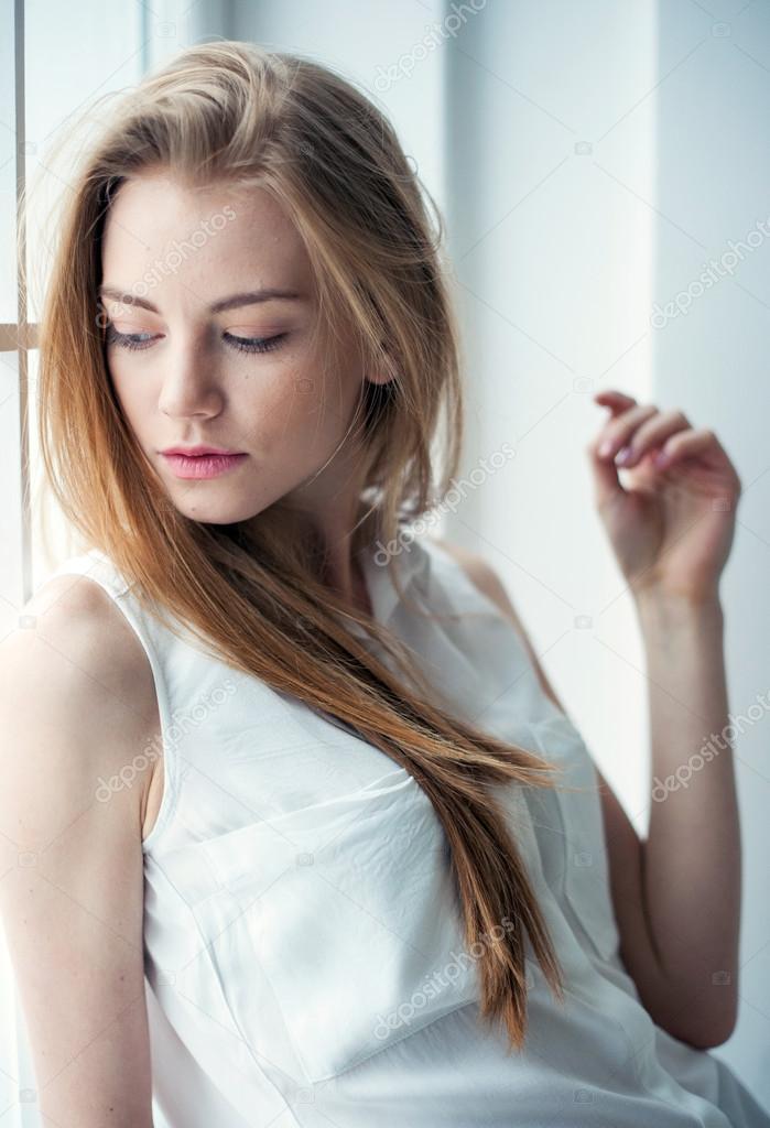 красота молодого тела девушки