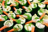 Cucumber bakquet food — Stock Photo