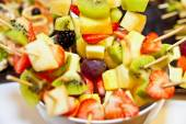 Small appetizer from fruits — Stock Photo