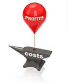 Profits and costs — Photo