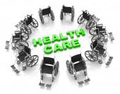 Opieki zdrowotnej — Zdjęcie stockowe