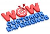 Wow customer experience — Foto de Stock