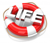 The lifebuoy — Stock Photo