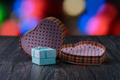 Gift heart holiday — Stock fotografie