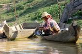 ASIA CAMBODIA SIEM RIEP TONLE SAP — Stock Photo