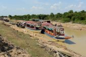 ASIA CAMBODIA SIEM RIEP TONLE SAP — Stock Photo