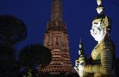 The temple of Wat arun — Stock Photo