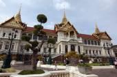 The king Palace near the wat phra Keaw — Stock Photo