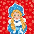 Snow Maiden — Stock Vector #52264899