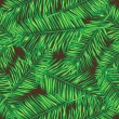 Palm leaves. Seamless vector background. Floral. — Stock Vector #52267987