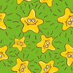 Постер, плакат: Stars sea and heavenly background