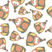 Penguins seamless pattern. — Stock Vector