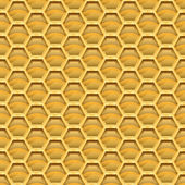Honeycomb. seamless mönster. — Stockvektor