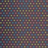 Vintage Polka Dots — Stockvector