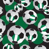 Textur-fußball. sport-muster. — Stockvektor