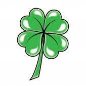 Leaf clover icon. — Stock Vector
